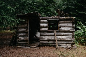 My cabin might have looked like this